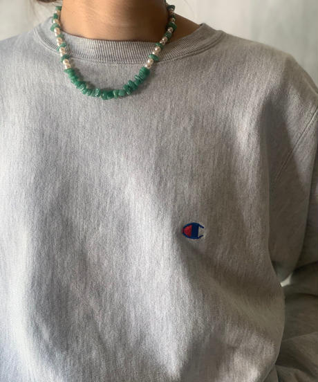 【USED】90's USA Champion Reverse Weave Sweat One Point /210213-005