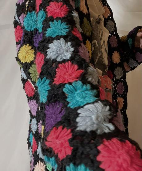 【RE;CIRCLE】 RE Granny Knit L/S Cardigan②/210917-014