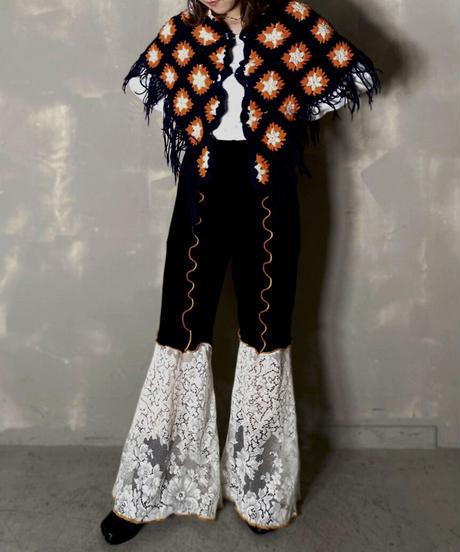 【RE;CIRCLE】Mellow Spandex × Lace Pants 3 / 201103-013