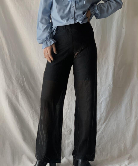 【USED】See-through Pants/210217-043