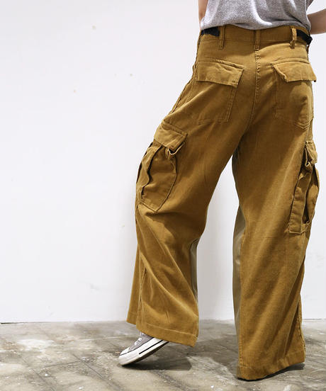[REMAKE] CORDUROY  WIDE PANTS 2