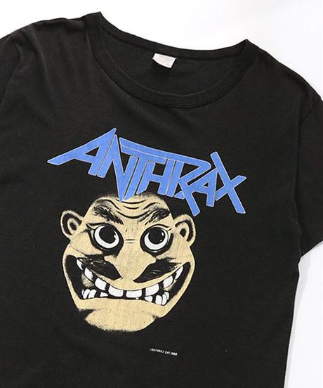 【Used】Heavy Metal Rock T-shirt  ANTHRAX (Heavy Metal Rock13)