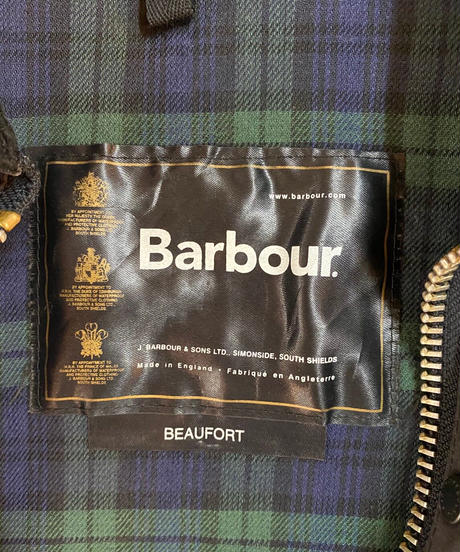 【USED】Barbour Jacket 9 / 201112-009
