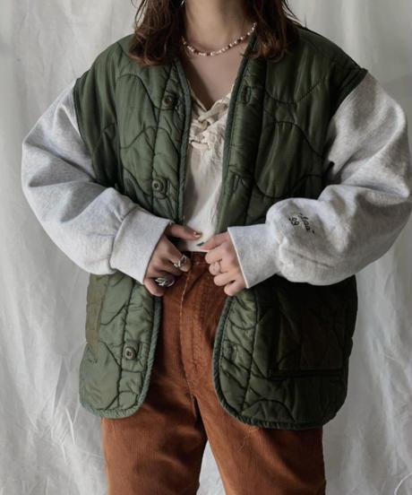 【RE;CIRCLE】 Remake Sweat Sleeve Liner Jacket② /210210-013