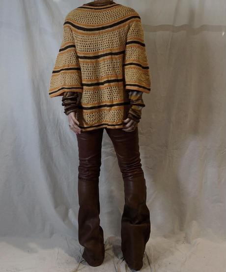 【USED】Crochet Knit Top/210217-064