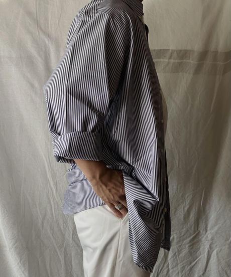 【USED】 Brooks Brothers L/S Strip Shirt②/210624-005