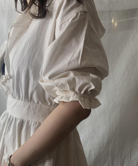 【RE;CIRCLE】RE Medical Open Front S/S One-piece ② /210601-021