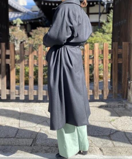 【mori kinsei】003 Balmacaan Coat