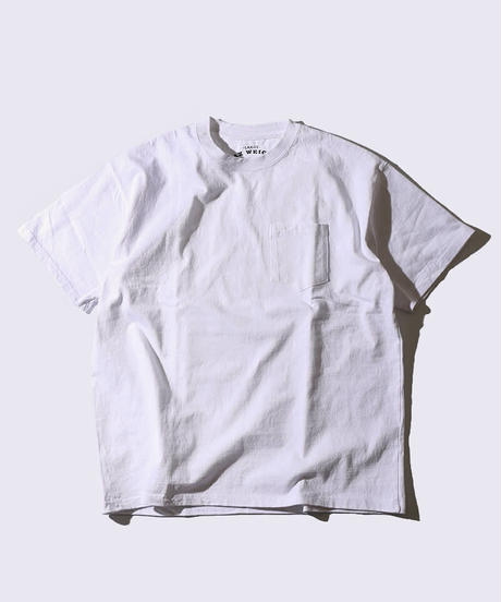 【MAX WEIGHT JERSEY】102 (White) (半袖 ポケット付)