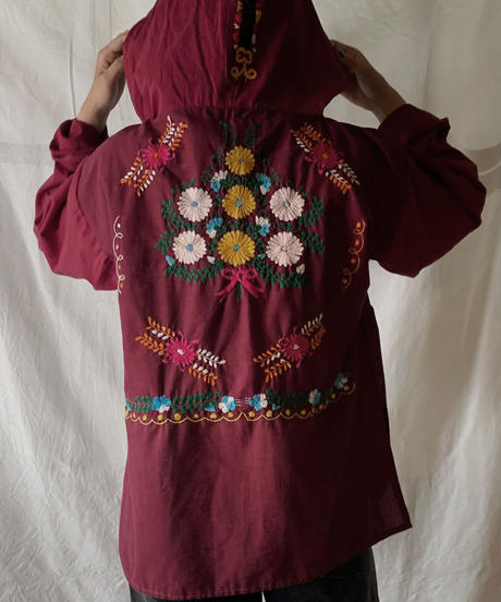 【RE;CIRCLE】RE Embroidery Ethnic Mexican Parker ⑥ /210601-008