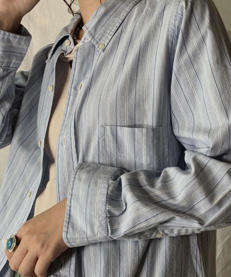 【USED】 Ralph Lauren L/S Strip Shirt⑤/210624-025