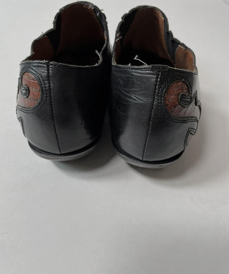 【USED】 Western  Leather Shoes/210826-002