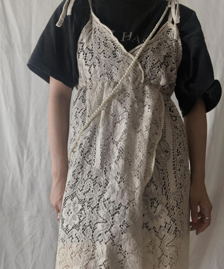 【RE;CIRCLE】 RE Lace N/S One-piece⑦/210714-011