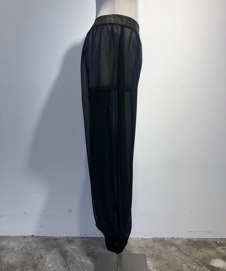 【Used】See-Though  Pants / 201006-009