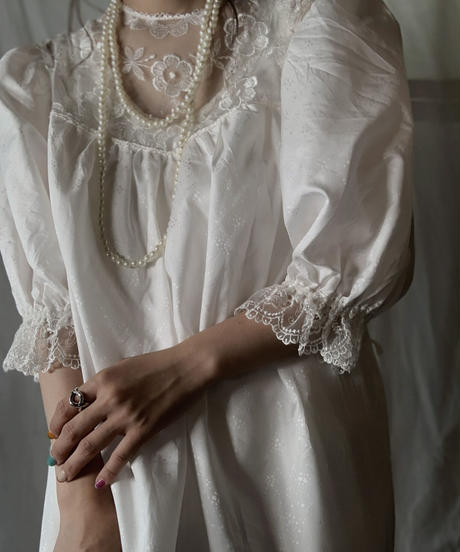 【USED】 Poly L/S Dress/210714-040