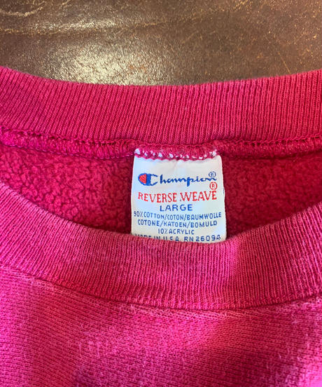 【USED】90's USA Champion Reverse Weave Sweat One Point /210213-010