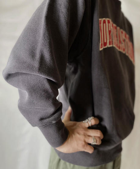 【USED】  Champion Reverse Weave Sweat NORTH EASTERN/210902-047