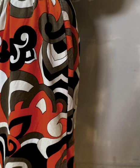 【USED】 Velour Long Skirt ②/ 201125-020