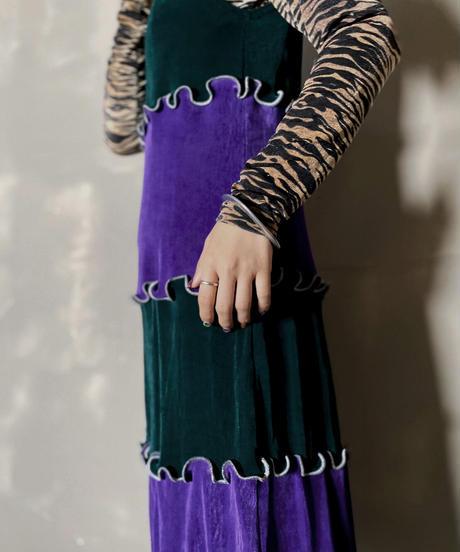 【RE;CIRCLE】 N/S Mellow Spandex Dress ① / 201114-023