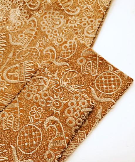 【FAG END】刺繍 Pants  (Brown)