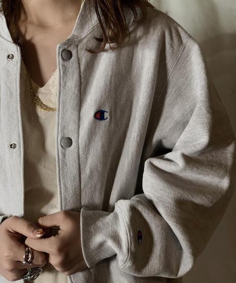 【USED】90's  USA Champion Reverse Weave Jacket③ /210210-031