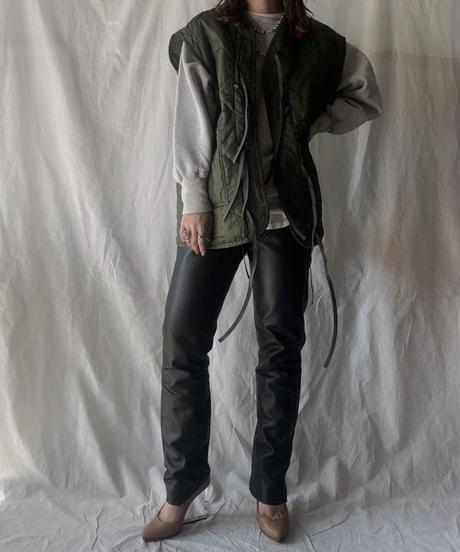 【RE;CIRCLE】 Remake Liner Jacket With Ribbon① /210210-008