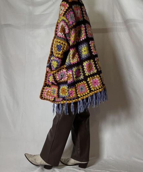 【RE;CIRCLE】 RE Granny Knit L/S Cardigan①/210917-013