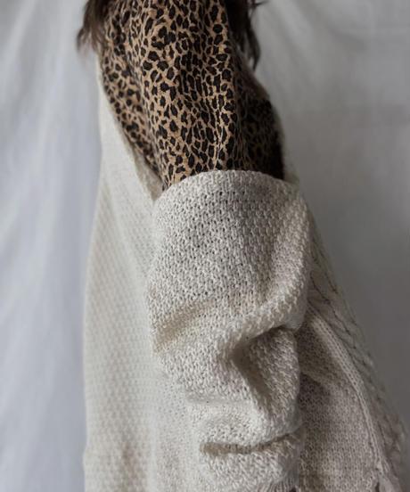 【RE;CIRCLE】 RE Alan Knit One-piece/211008-001