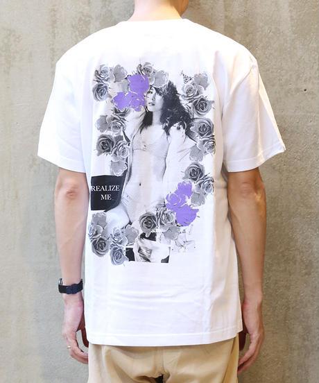[montage] Aya Kawasaki Realize me SS T-shirt (White)