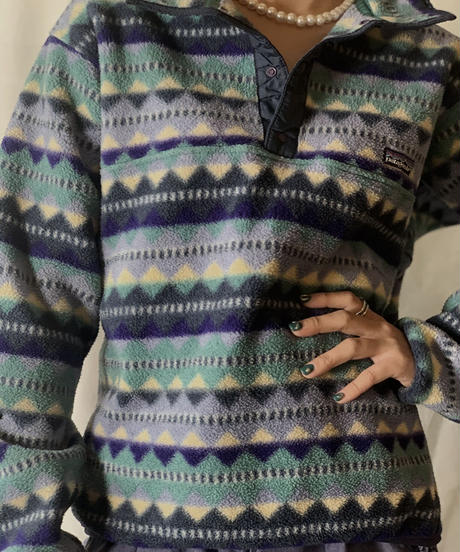 【USED】 Patagonia Patterned Freeze Top ② /210203-022