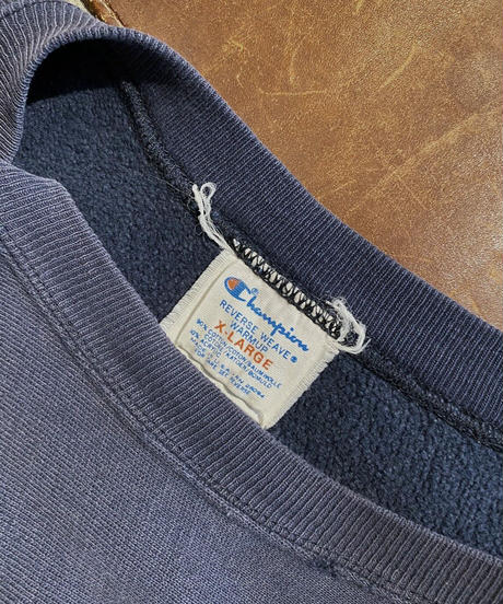 【Used】 80s USA Champion Reverse Weave Sweat KANSAS / 10
