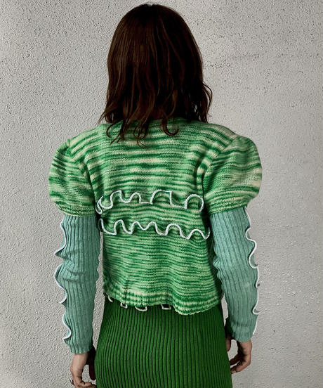 【RE;CIRCLE】 Mellow Knit Top ② /210106-021