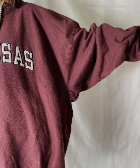 【USED】  Champion Reverse Weave Sweat ARKANSAS/210902-021