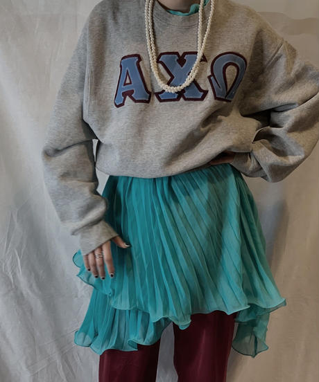 【USED】College Sweat AXΩ/210217-053