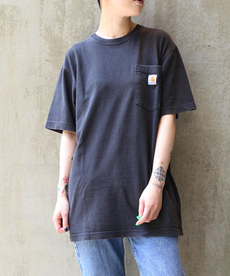 [USED]Carhartt T-SHIRT (BLACK2)