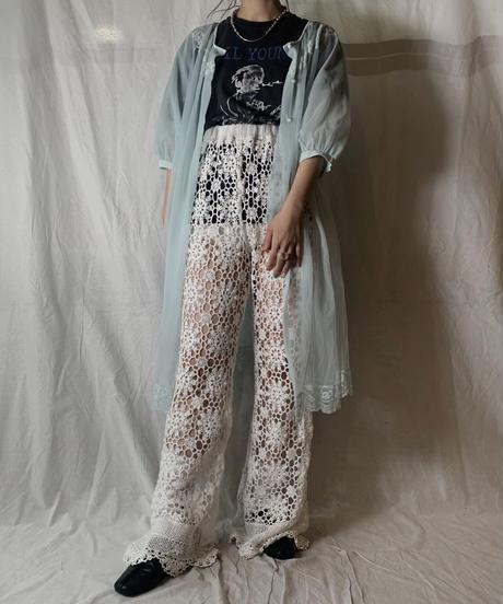 【RE;CIRCLE】 RE Lace Pants③/ 210714-003