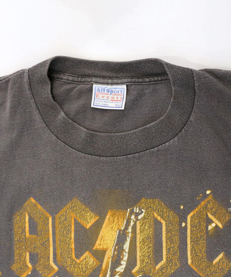 【Used】Hard Rock T-shirt  ACDC (Hard Rock7)
