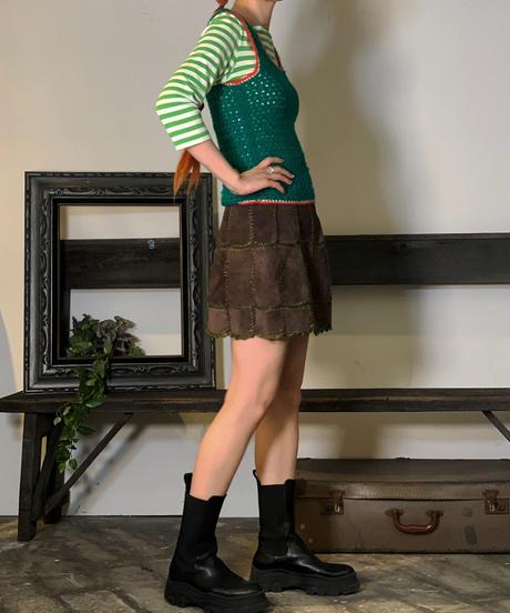【Used】Knit Vest / 201011-008