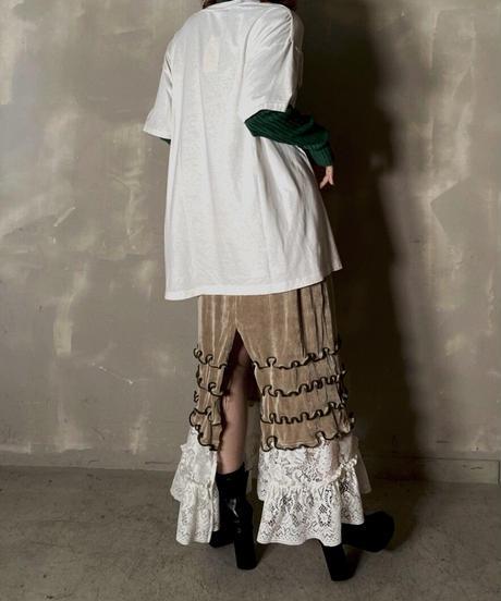【RE;CIRCLE】 Mellow Spandex  Medium Skirt ② / 201114-022