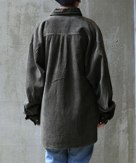 [USED] Corduroy Shirt (Khaki2)