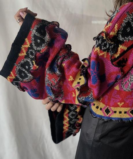 【RE;CIRCLE】 Mellow Knit Sweater① /210217-018