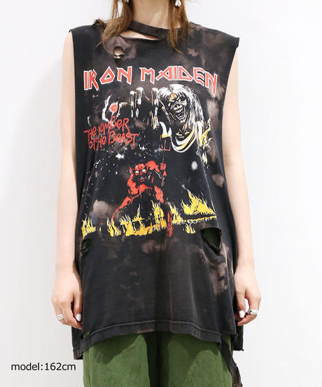 [REMAKE] DAMAGE ROCK T-SHIRT(MAIDEN)