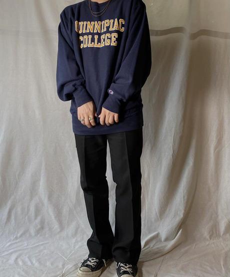 【USED】 90's USA Champion Reverse Weave Sweat QUINNIPIA / 210127-061