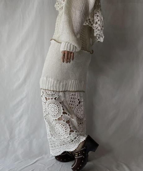 【RE;CIRCLE】 RE Alan Knit Skirt/211007-009