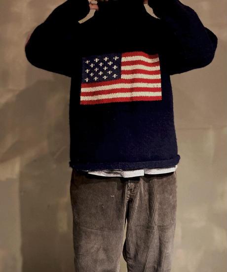 【USED】USA Flag Knit /201130-011