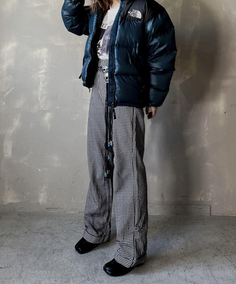 【USED】 Poly Flared Pants ① / 201204-002