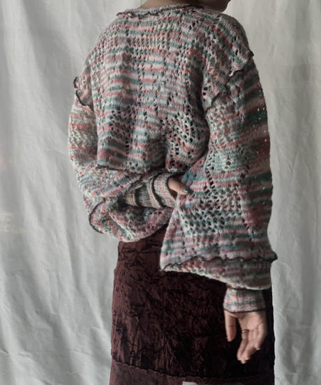 【RE;CIRCLE】 Mellow Knit Sweater ① /210203-038