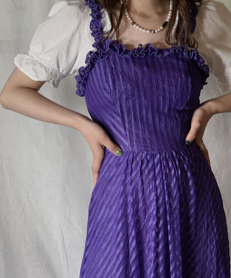 【USED】 Poly EURO Dress②/210421-041