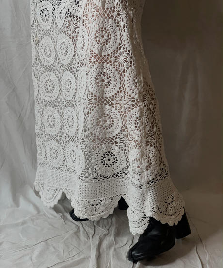 【RE;CIRCLE】 RE Lace N/S One-piece⑤/210714-009