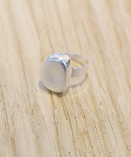Metal Ring  Bean (Silver)